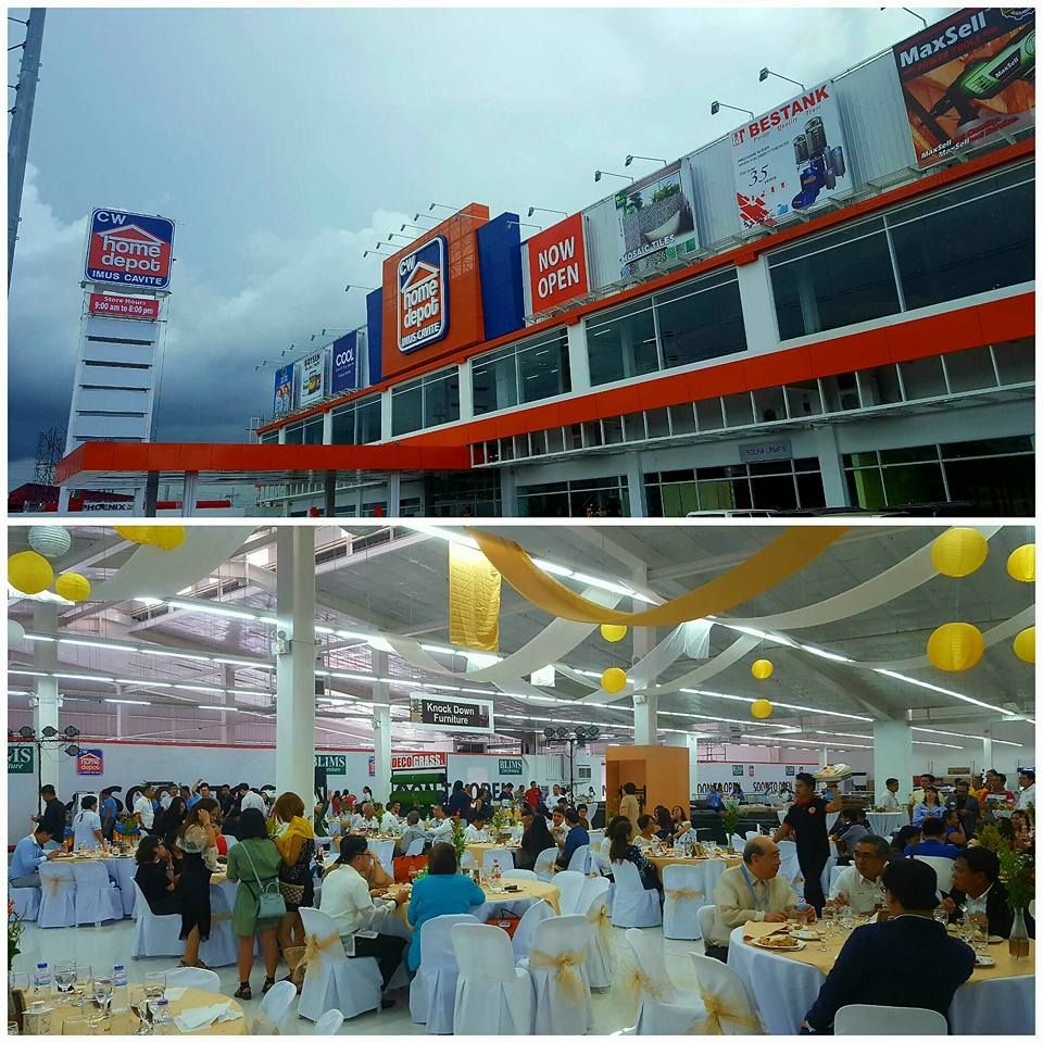 Uap graces cw home depot imus cavite grand opening Cw home depot furnitures