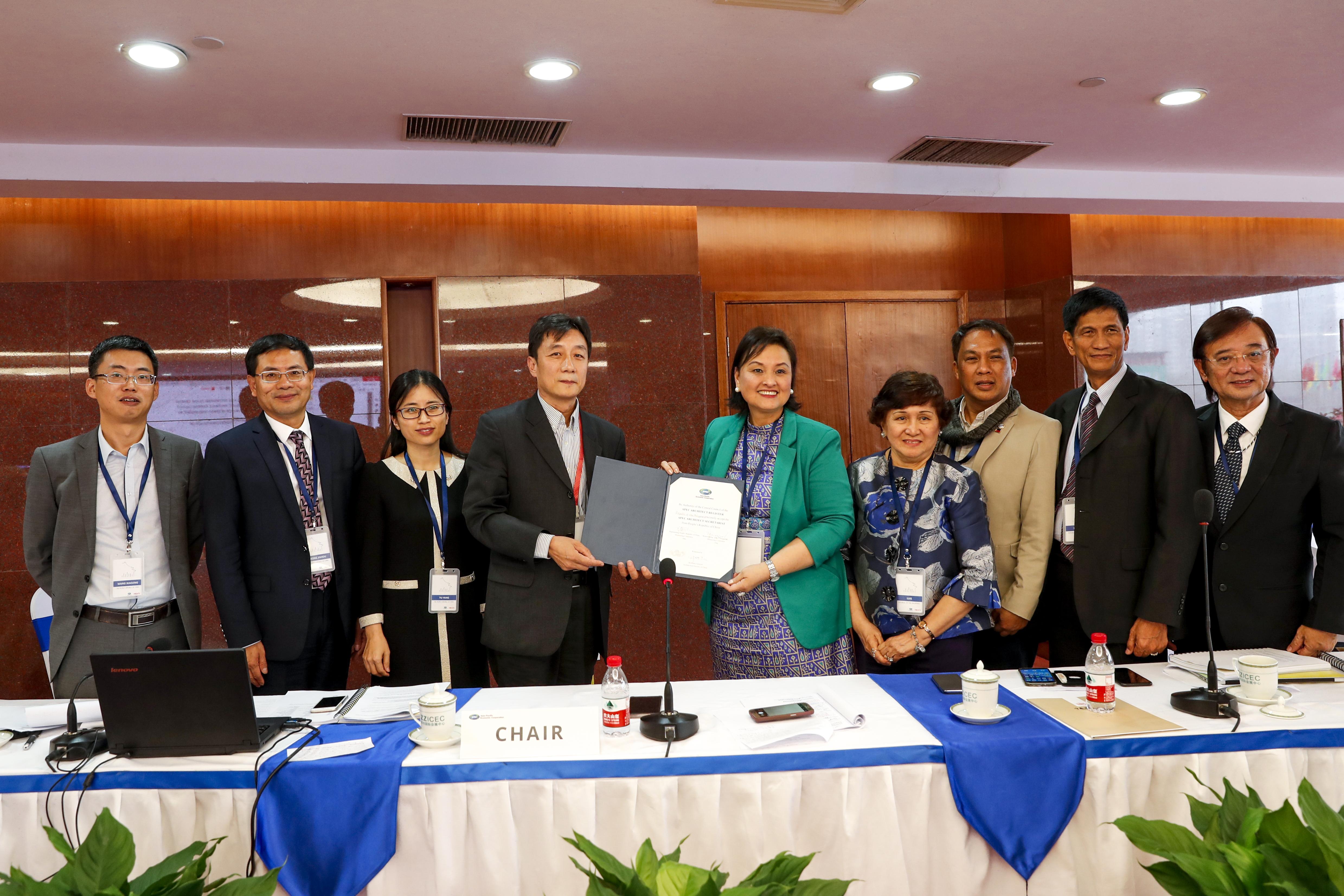 8th APEC Architect Central Council