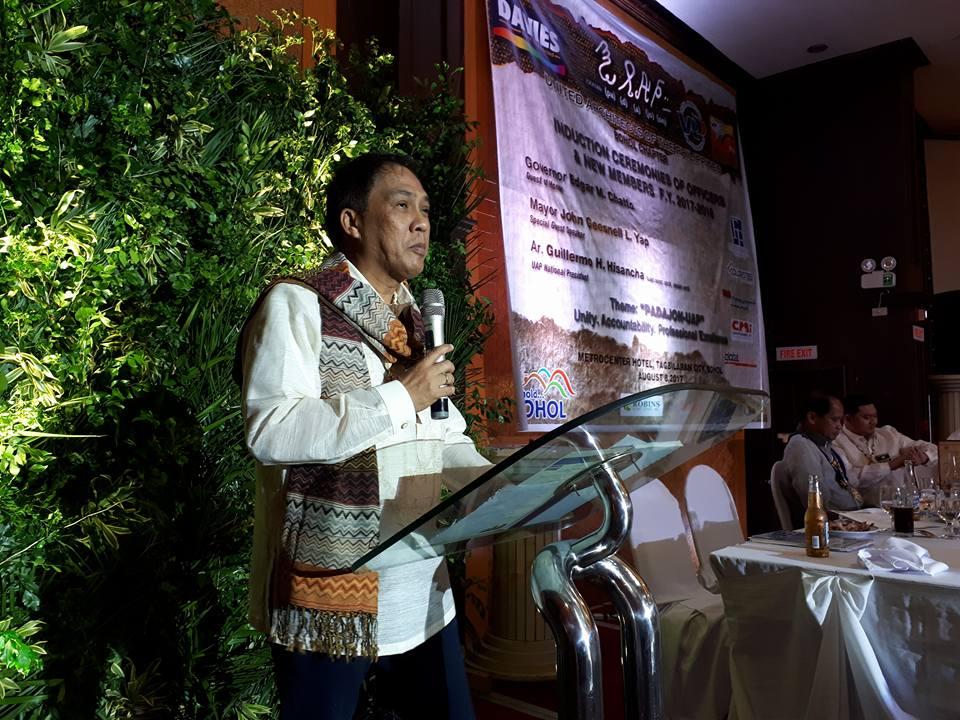 08.08.17 | UAP Bohol Chapter Induction